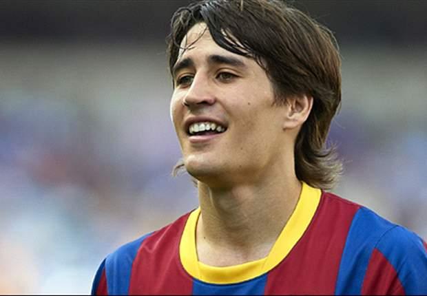 Bojan Krkic noch im Trikot des FC Barcelona