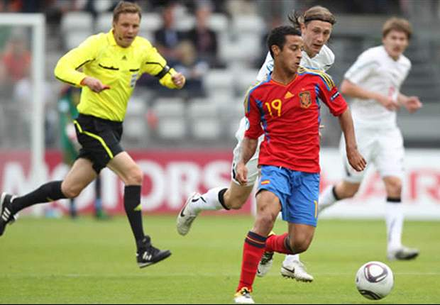 Spain coach Vicente del Bosque: Thiago can still decide to play for either Spain or Brazil