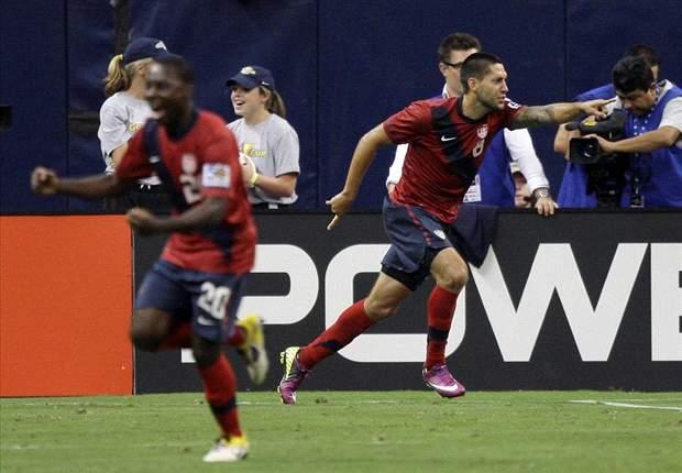 USA starts Freddy Adu and Landon Donovan against Mexico
