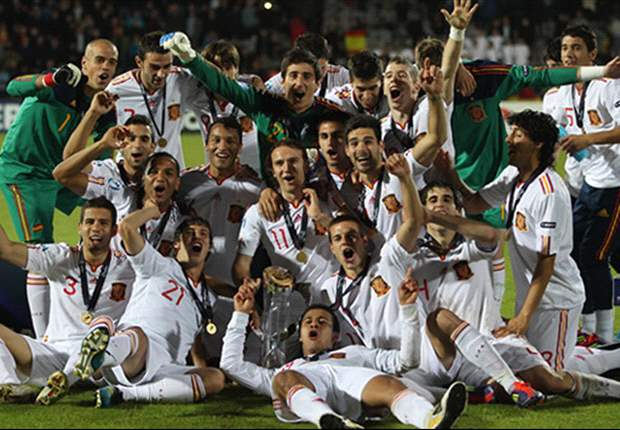 Continental champions at Under-19 & U-21 level, Euro 2008 holders and World Cup winners - Spain are dominating football