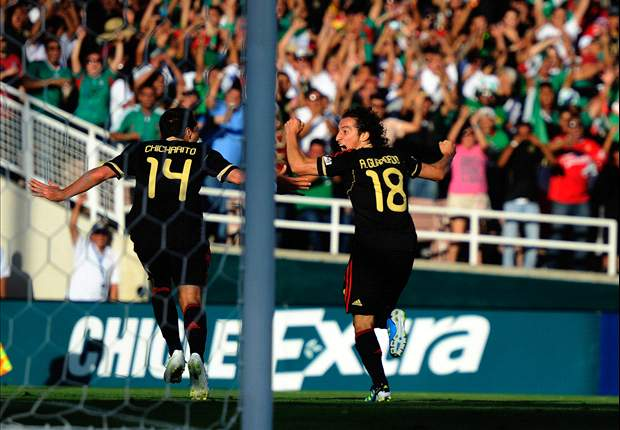 Five points from the Mexico side in the Gold Cup final