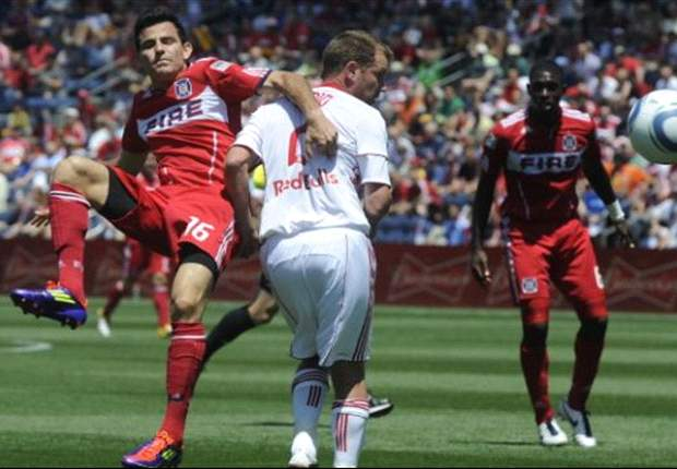 Chicago Fire 1-1 New York Red Bulls: Fire come from behind to claim another draw
