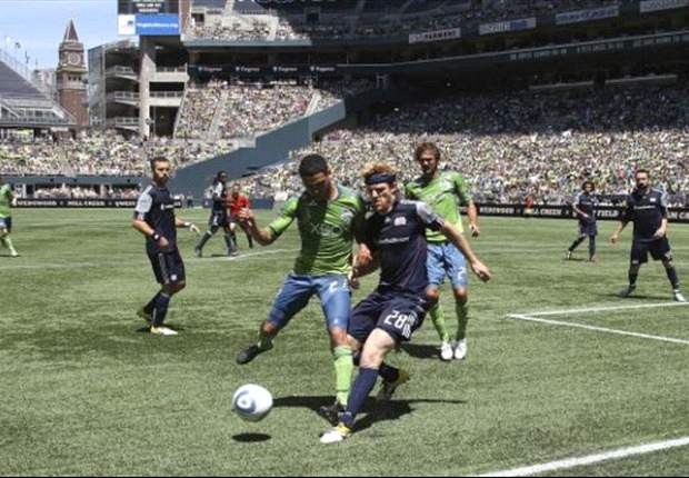 Seattle Sounders 2-1 New England Revolution: Sounders edge Revs