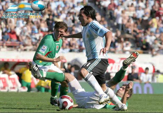 Argentina 1-1 Bolivia: Kun Aguero saves Sergio Batista's men in Copa America opener