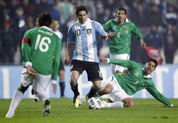 Argentina's Lionel Messi: Bolivia surprised us with a 'sh*tty' goal