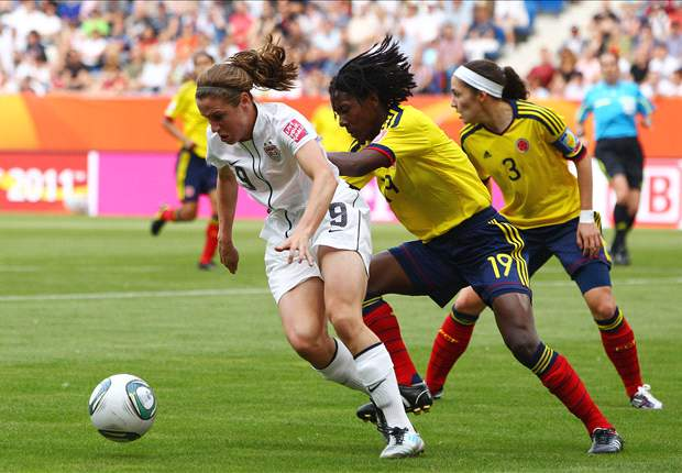 United States 3-0 Colombia: U.S. women into quarterfinals of World Cup