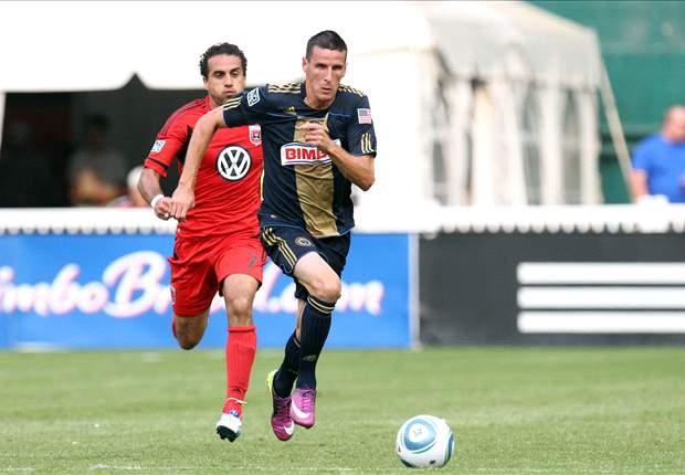 Philadelphia Union forward Sebastien Le Toux named MLS Player of the Month for September
