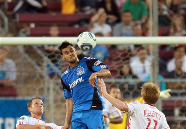 San Jose Earthquakes 2-2 New York Red Bulls: Lindpere brace earns a point for the visitors