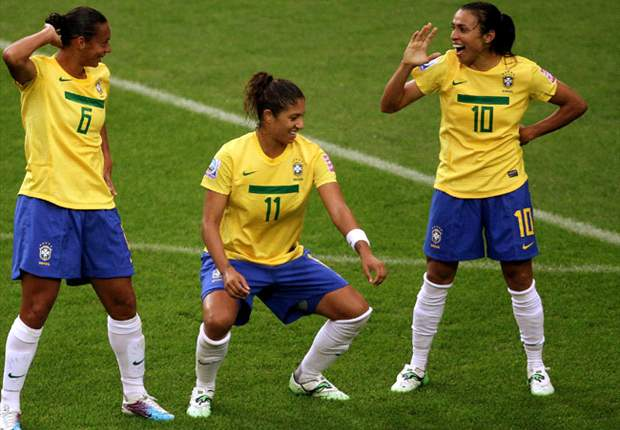 FIFA 2011 Women's World Cup: Marta powers Brazil into quarterfinals, Australia edges Equatorial Guinea