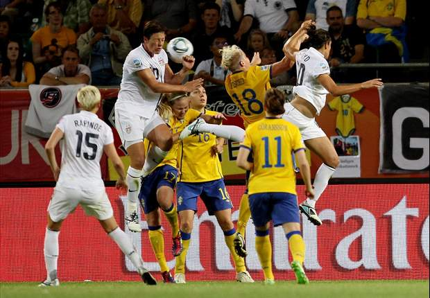 Sweden 2-1 USA: U.S. women will face Brazil in the quarterfinals following shocking defeat