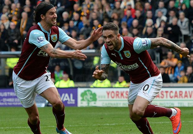 Hull City 0–1 Burnley: Ings winner can't save Clarets from the drop