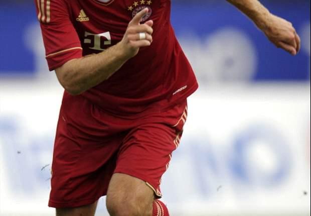 Arjen Robben erhöht die Belastung und steht vor Rückkehr