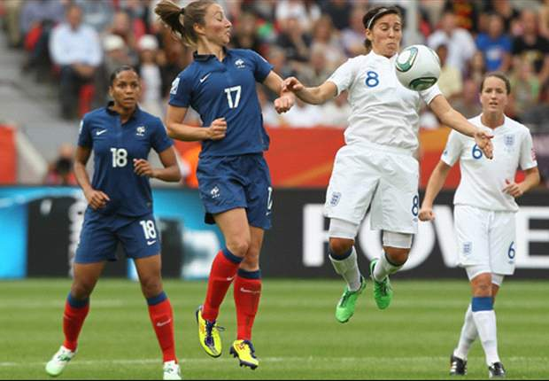 England Women 1-1 France Women (3-4 pens): Hope Powell's side crash out of World Cup at quarter-final stage after penalty defeat