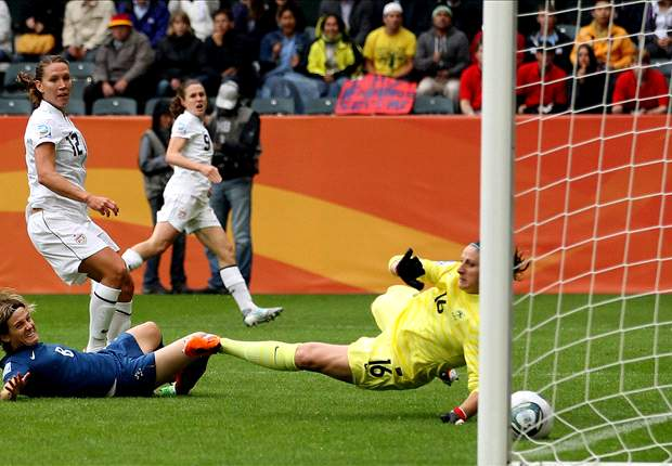 United States 3-1 France: Wambach goal sends USA to World Cup final
