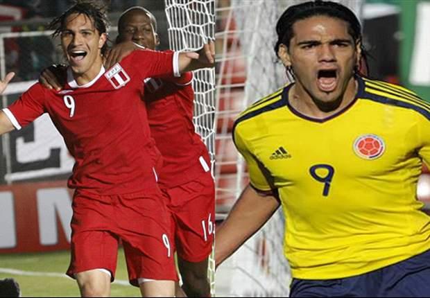 Copa America preview: Colombia - Peru