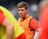 Gerrard enjoys first training session under Klopp