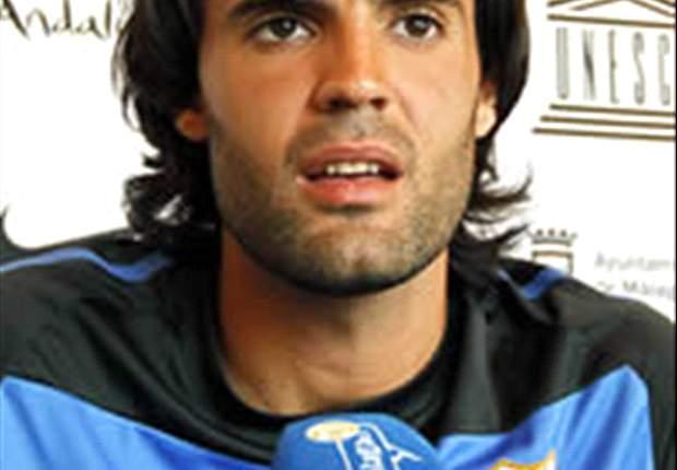 Sergio Sánchez, del Málaga, envidia al Barcelona