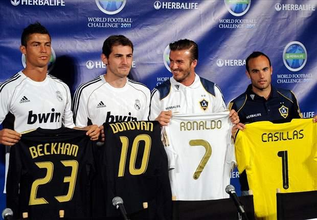 Los Ángeles Galaxy - Real Madrid: Puesta de largo del campeón de Liga