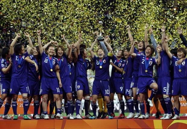 Jepang Juara Dunia Putri