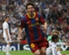 Lionel Messi Barcelona Real Madrid Champions League 27042011