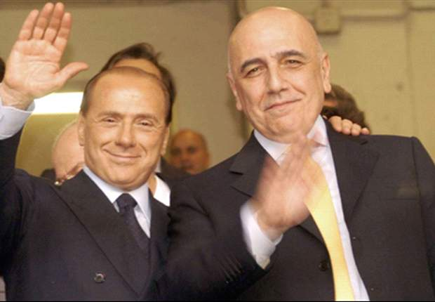 I have total faith in Galliani, says Berlusconi