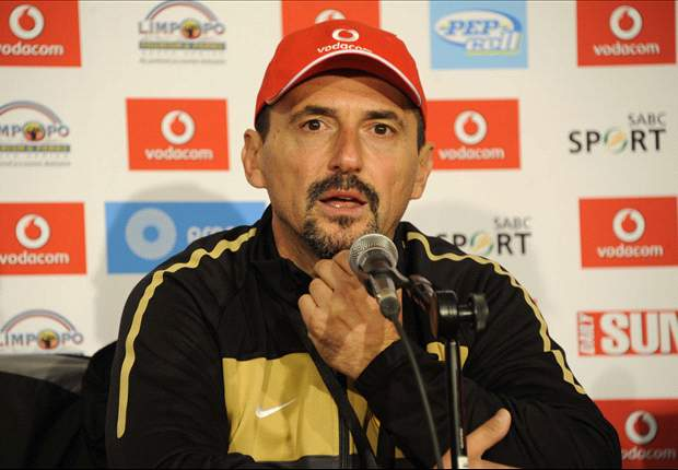 Coach Vladimir Vermezovic still waiting for work permit in South Africa