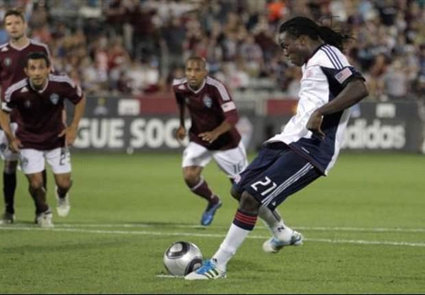 Colorado Rapids 2-2 New England Revolution: Shalrie Joseph penalty earns draw for Revs