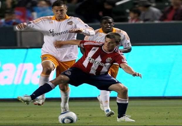 Chivas USA 3-0 Houston Dynamo: Braun hits hat-trick in Goats win