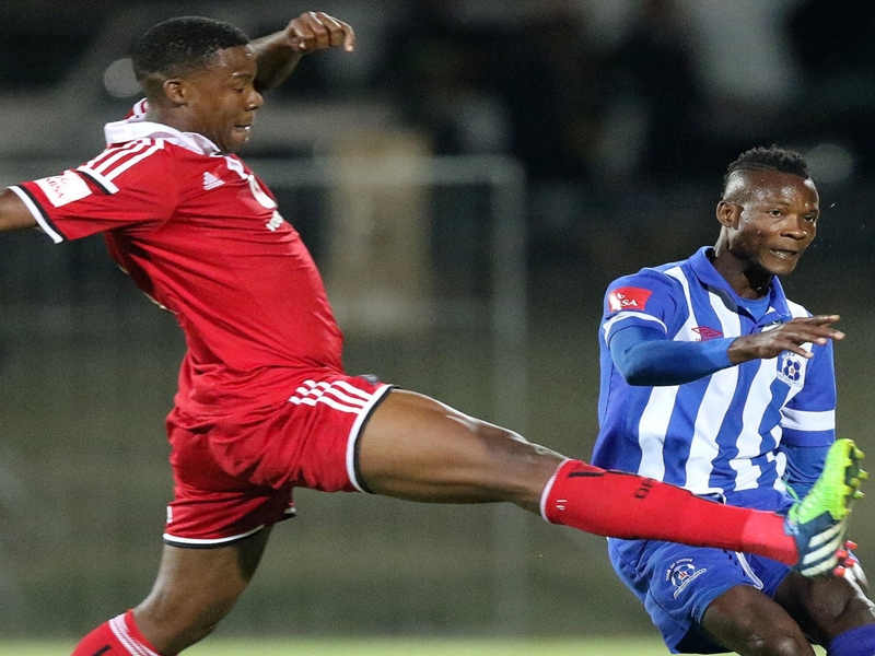Orlando Pirates striker Gabuza eyes a spot in CBL Cup starting line-up