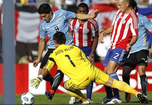 Los Uruguay - Paraguay en el Centenario