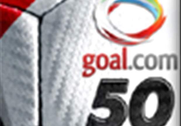 Découvrez le Top 50 Goal.com !