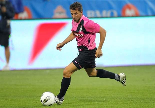 Juventus-Juventus Primavera 2-0: Del Piero-Vucinic, coppia vincente