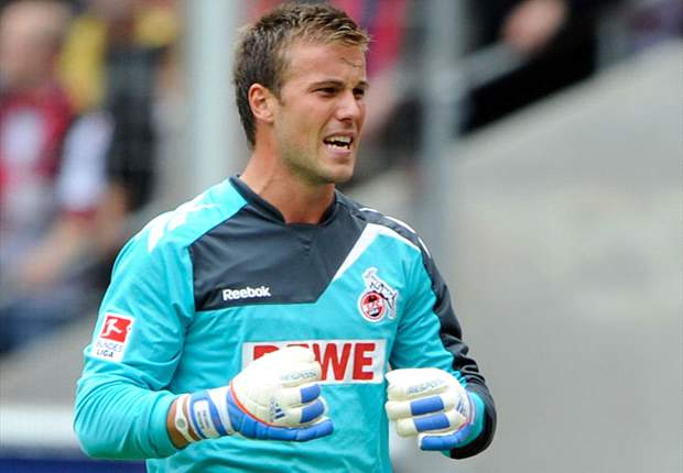 Michael Rensing war beim 1. FC Köln noch die Nummer Eins zwischen den Pfosten