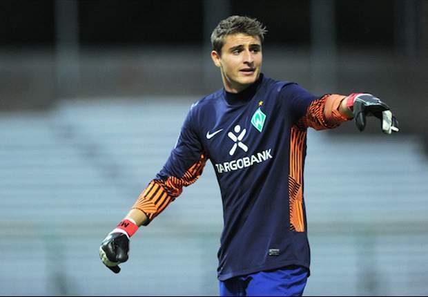 Werder Bremen: Teamkollegen loben Keeper Sebastian Mielitz