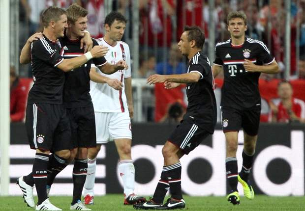 Bayern Munich, AC Milan, Dan Manchester City Bertarung Di Audi Cup