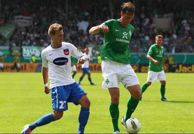 Blamable Bremer verabschieden sich beim 1. FC Heidenheim aus dem DFB-Pokal