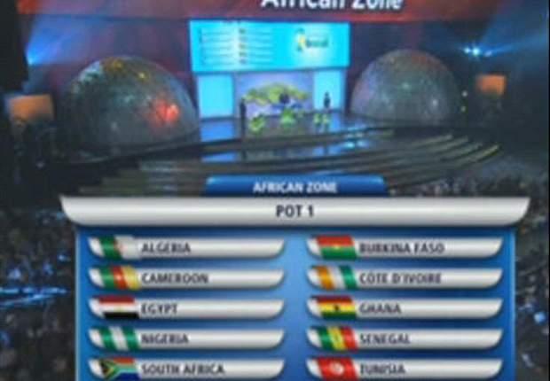 Mondial 2014 - Le tirage au sort de toutes les zones