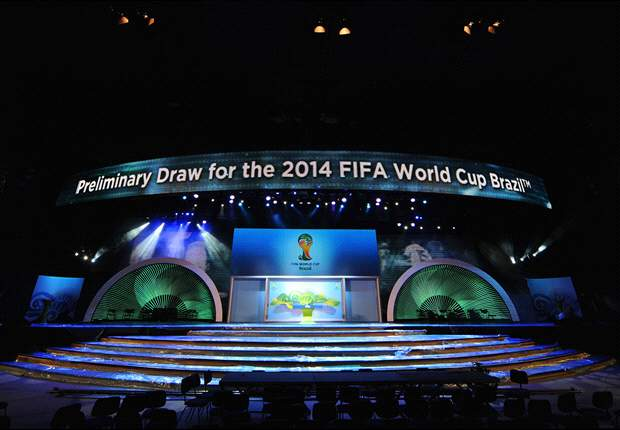 Overzicht loting kwalificatie WK 2014