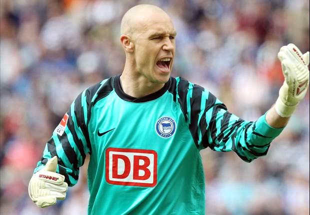 Doelman Aerts verlaat Hertha BSC