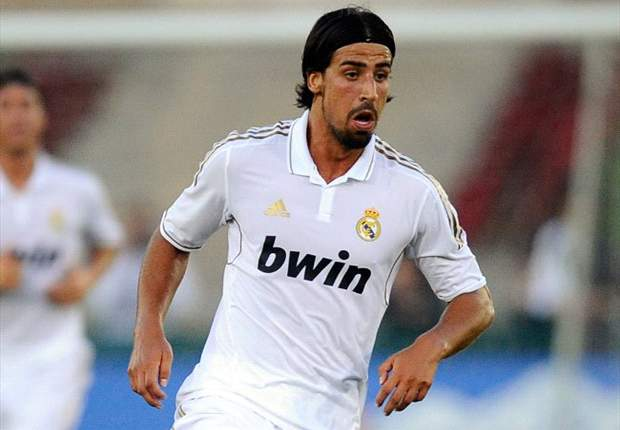 Real Madrid's Sami Khedira out for up to four weeks with ankle injury