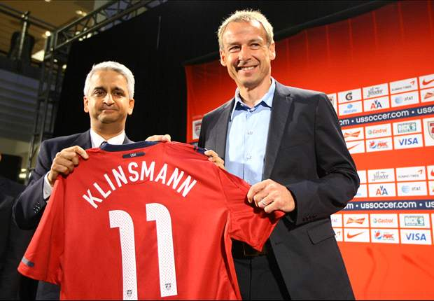 New USA boss Jurgen Klinsmann admits one of biggest challenges will be to decide style of play