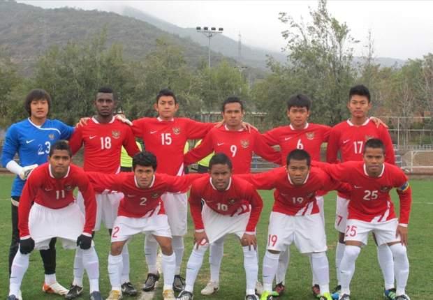 Timnas U-19 Bermain Imbang Lawan Cina