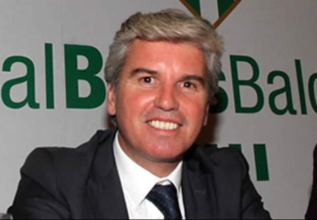 José Antonio Bosch: Los partidos solo se suspenden por causa de fuerza mayor