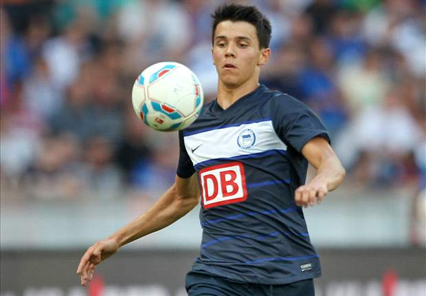 Alfredo Morales scores first goal for Hertha Berlin in victory