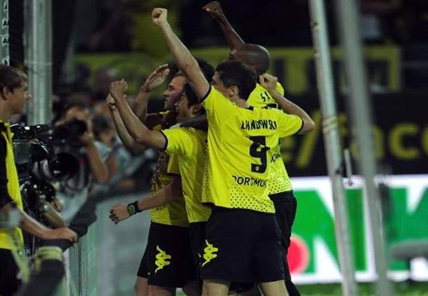 Meister Dortmund zeigt dem Hamburger SV die Grenzen auf