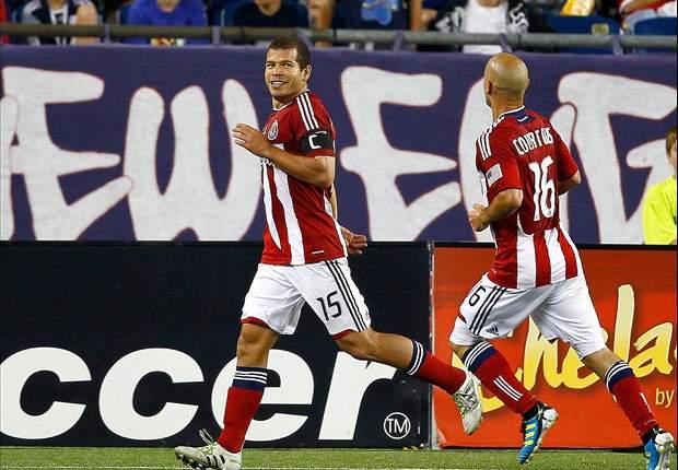 New England Revolution 2-3 Chivas USA: Alejandro Moreno brace helps snap Revs' unbeaten streak