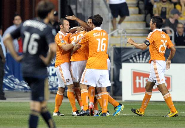 Philadelphia Union 1-1 Houston Dynamo: Geoff Cameron's scores late game-tying goal