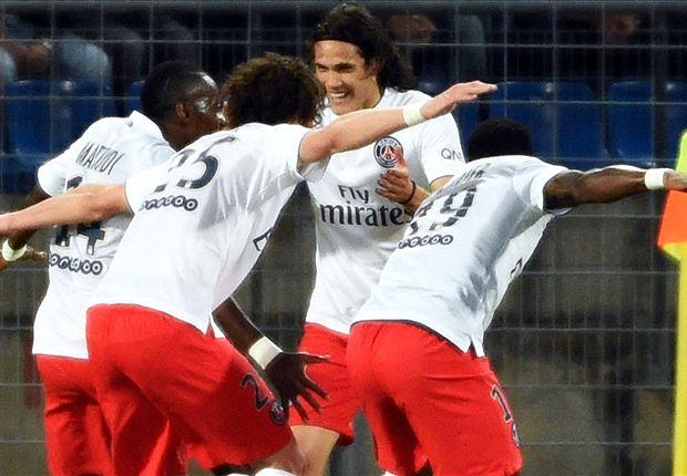 Montpellier 1-2 PSG: Matuidi & Lavezzi lead Les Parisiens to third successive title