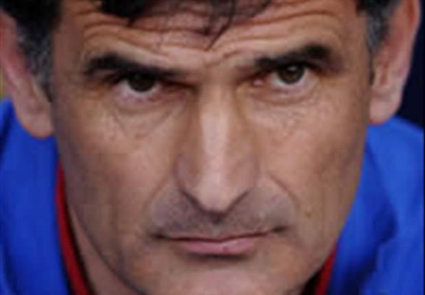 Mendilibar habla del sufrimiento del Osasuna toda la temporada