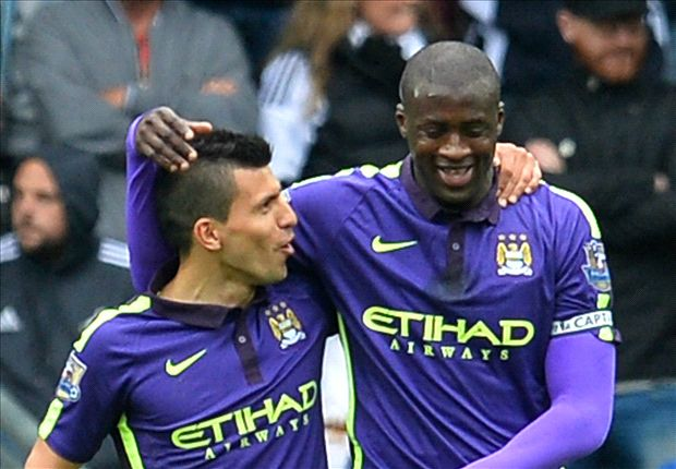 Swansea City 2-4 Manchester City: Hart saves visitors after Toure double
